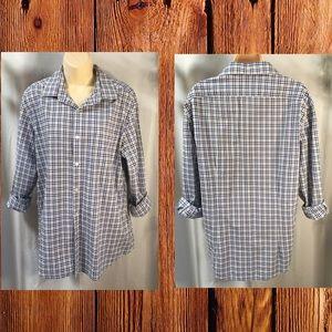 .*DKNY* Men's 100% cotton long sleeved shirt